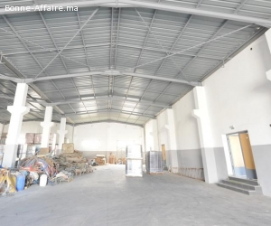 Local industriel de 2.000 m² à Had Soualem