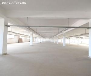 Local industriel de 2000 m² à Lissasfa