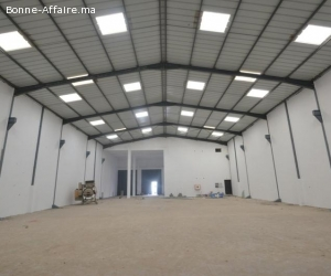 Local industriel de 850m2 à Nouaceur