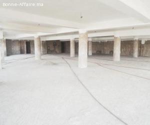 Local industriel semi-fini de 3000m2 Sidi Bernoussi à vendre
