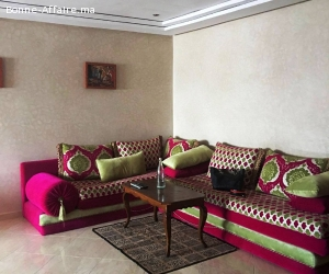 Location appartement meublé à Hay Mohammadi