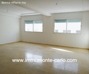Location appartement neuf à Jnane Souissi Rabat