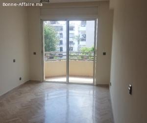 Location d'un appartement meublé bien située à Marina Rabat,