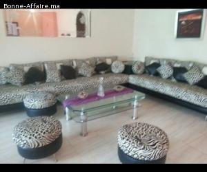 Location d'une appartement meublè à harhoura, Rabat