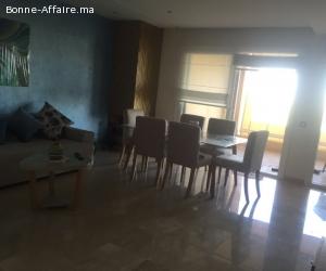 Location d'une jolie appartement meublè à Harhoura, Rabat