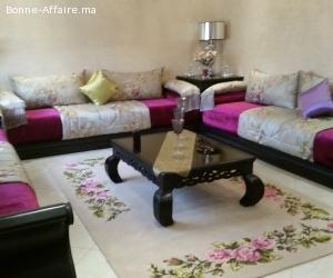 Location d'une jolie villa meublè à harhoura, Rabat