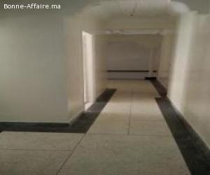 location de bureau avec asc et garage de 170m2 à maarif