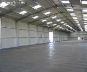 Location dépôt de Zone Industrielle Agadir