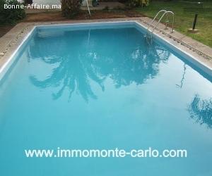 Location Hay Riad villa avec chauffage central et piscine