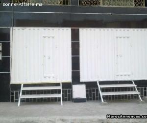 Location Magasins,Cave et Appartement a sala al jadida Rabat