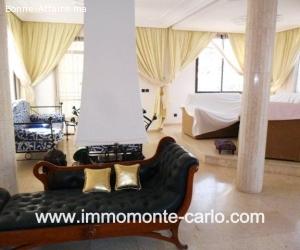 Location villa meublée à Sid el abd la plage Témara Rabat