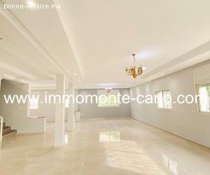 Location villa toute rénovée à Souissi Rabat