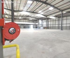 Locaux de stockage totalisant 11.000 m² à ZI Ain sebaa