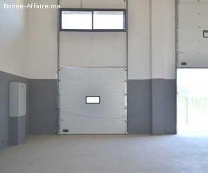 Locaux industriels couplables de 1.200 à 2.400 m² à Aïn Seba