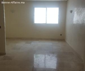 Loction d'une appartement vide à Hassan, Rabat