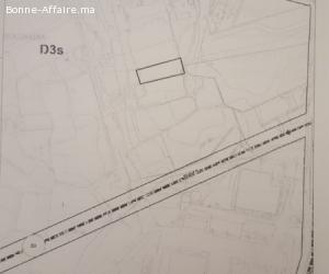 Lot de terrain zone villa à bouskoura de 1365 m2