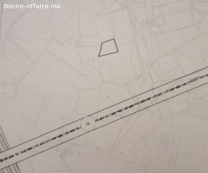 Lot de terrain zone villa à bouskoura de 860 m2