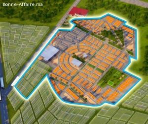LOTS DE Terrains R+4 zone immeuble BERRICHID