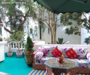 Luxueux appartement duplex meublé à Rabat Agdal