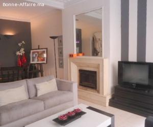 luxueux appartement joliment meublé à maarif