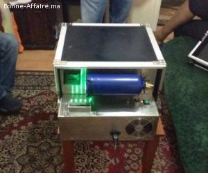 Machine automatique 4D - Solution de nettoyage SSD
