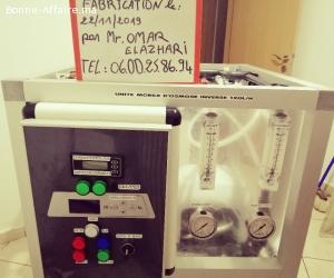 Machine filtration d'eau par l'osmose inverse