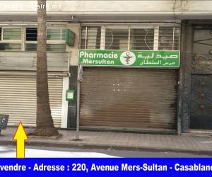 Magasin titré à vendre, à Mers Sultan - Casablanca - Maroc