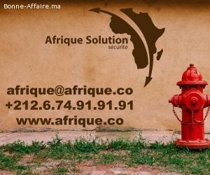Maroc Poteaux d'incendie Rabat