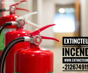 Maroc Protection sécurité incendie Rabat extincteurs