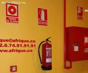 Maroc sécurité incendie