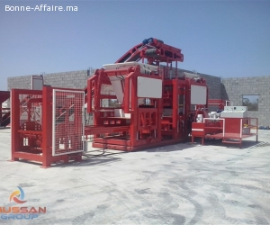 MG 10.2 machine de bloc beton fabrication de paves, parpaing