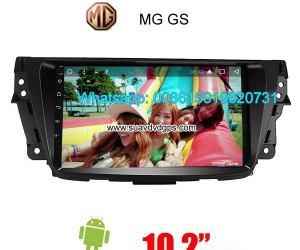 MG GS Car audio radio update android GPS navigation camera