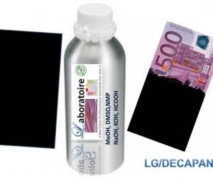 nettoyage de billet de banque noir et vert