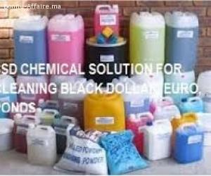 Nettoyer billets de banque noirs et verts