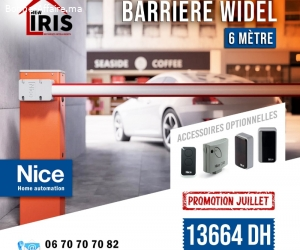 offre barrière WIDEL 6M