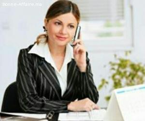 Offre d'emploi hôtesse d'accueil