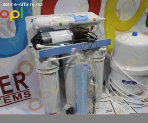 Osmoseur 5 filtre a eau agua plus باش تصفي الماء د