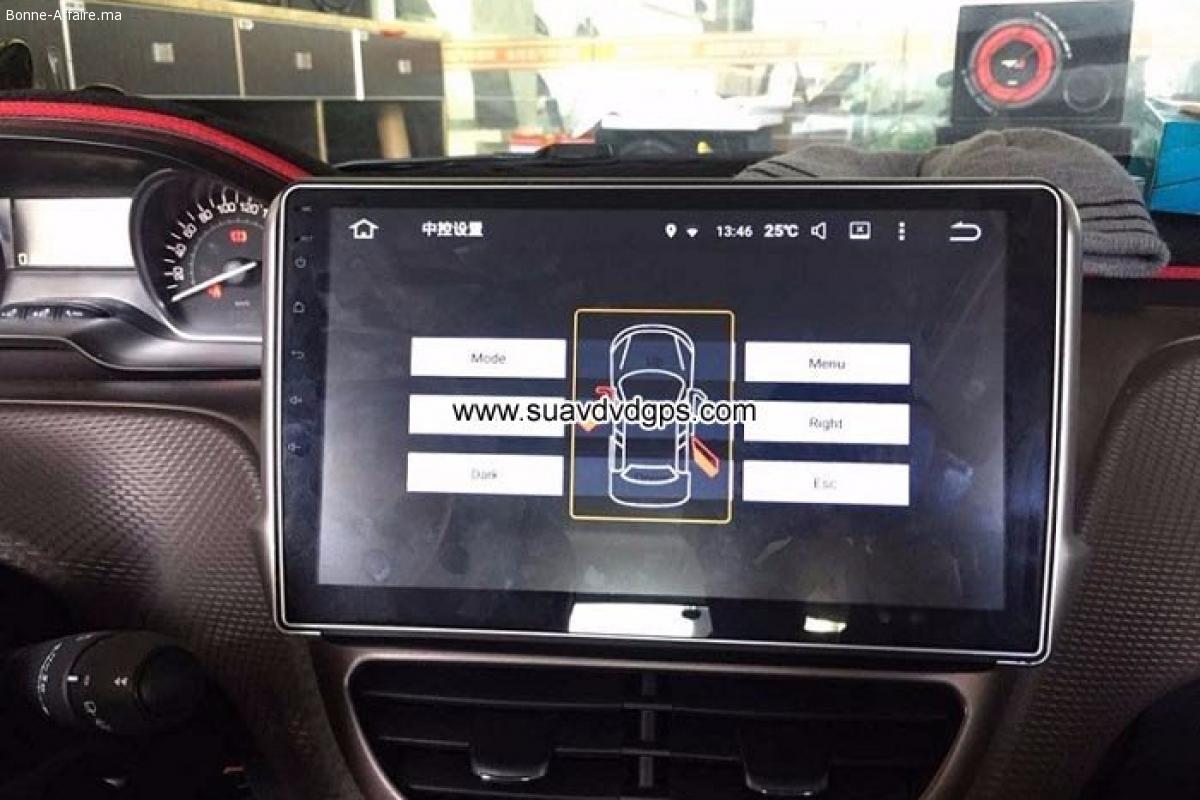 peugeot 2008 android car radio gps wifi navigation camera pa bonne. Black Bedroom Furniture Sets. Home Design Ideas