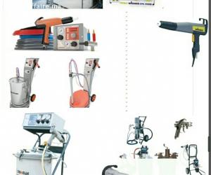 PISTOLET DE PEINTURE ELECTROSTATIQUE/EPOXY