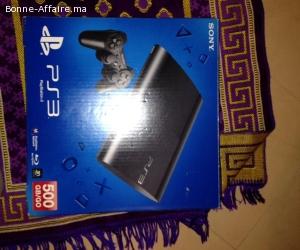 Playstation Sony Console PS3 Ultra Slim 500Go avec 05 CD