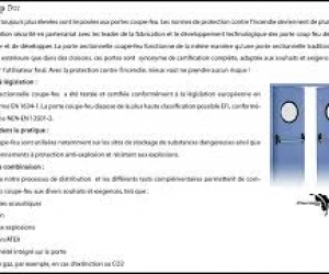 Porte coupe feu PCF Rabat Kenitra