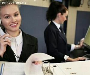 Post hôtesse d'accueil