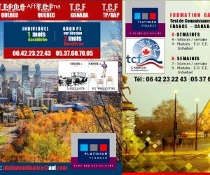 Préparation aux TESTS -/ TEFAQ-TCF-TEF-TFI-DELF-DALF-DILF-