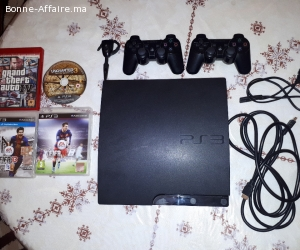 Ps3 slim/ 2manettes/ micri speaker/ cd