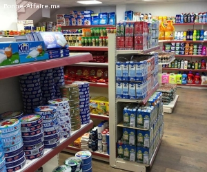 Rayonnage Super Marché