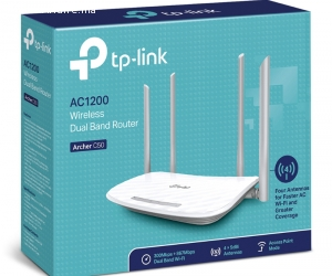 Routeur / Point d'accès WiFi bi-bande AC1200 Mbps