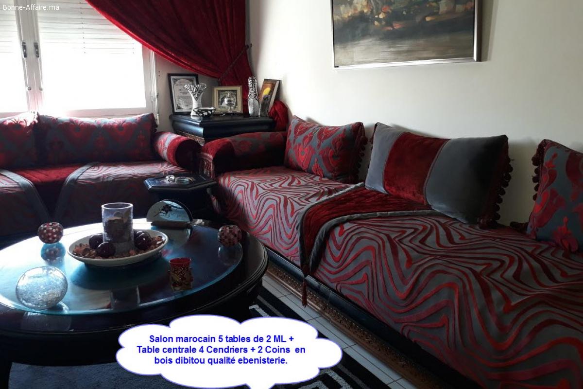 Salon Marocain & Chambre à coucher à vendre - Bonne-Affaire.ma