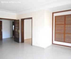 Spacieux appartement en location à Rabat agdal