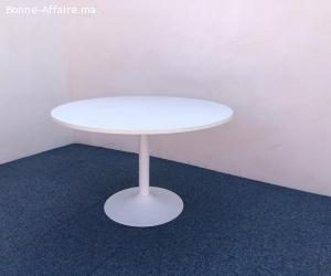 Table ronde blanche Sedus 120cm