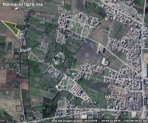 Terrain,15000 m2, route fouarate, Skhirat centre